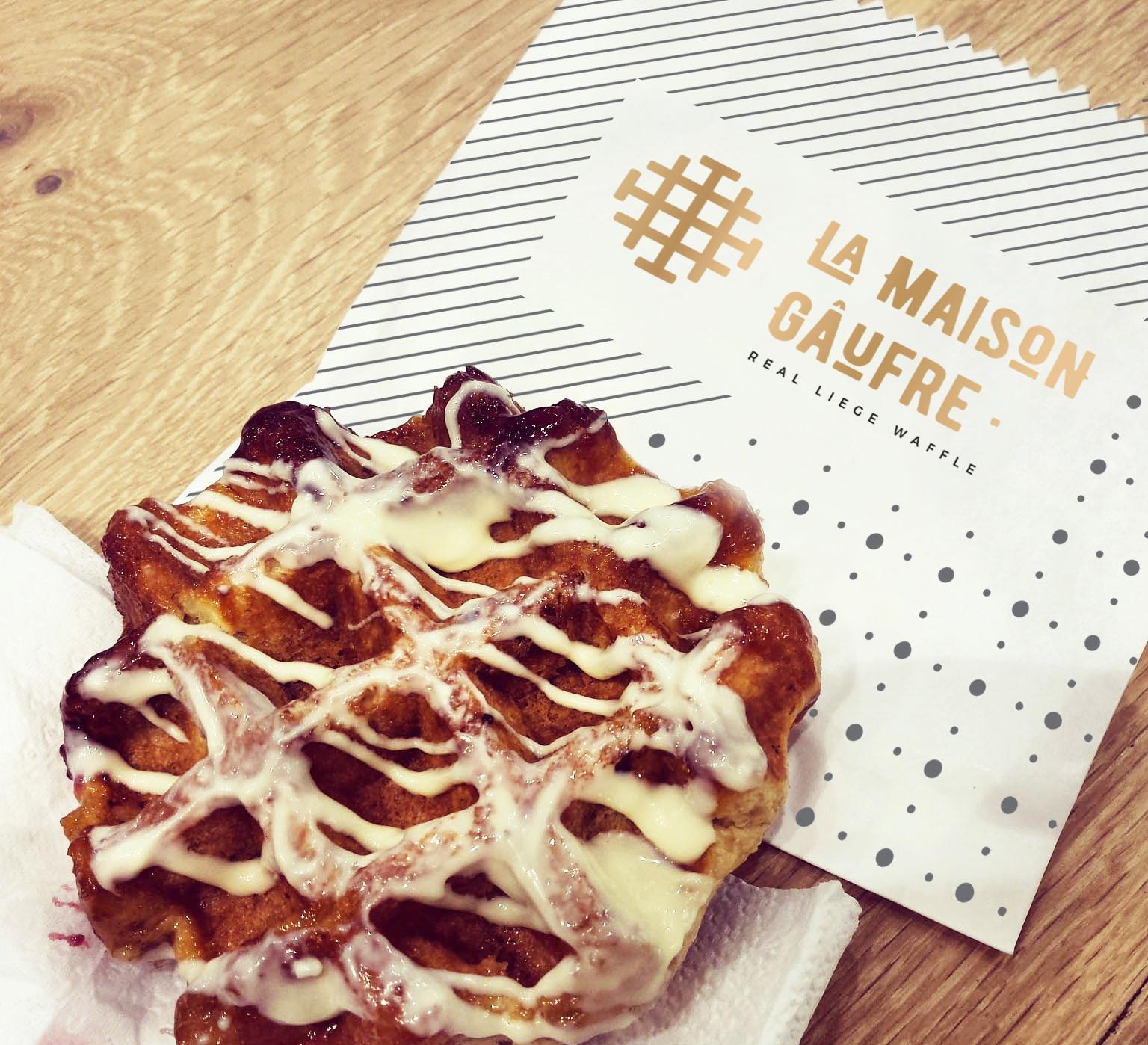 La Maison Gaufre Waffles de Liege listos para consumo